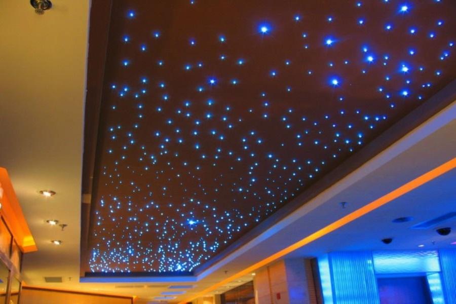 Потолок звёздное небо своими руками
